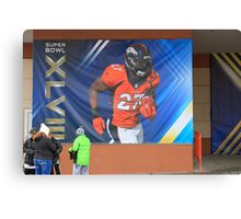 Super Bowl Poster Canvas Print