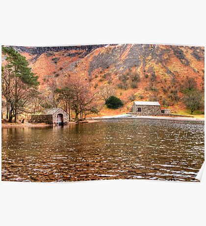 Wastwater Boathouse Poster