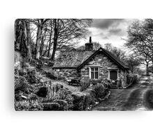 Wasdale Lodge Cottage Canvas Print