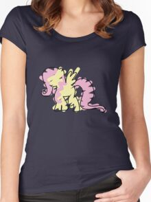 Flutter Shy Women's Fitted Scoop T-Shirt