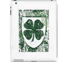 light burst clover iPad Case/Skin