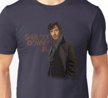 Sherlock Downey Jr. Unisex T-Shirt