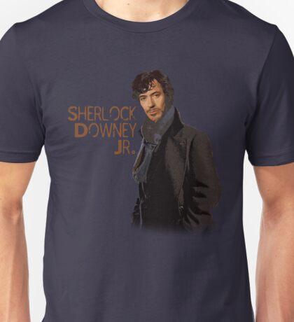 Sherlock Downey Jr. Unisex T-Shirt