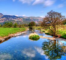 Goldrill Beck by English Landscape Prints