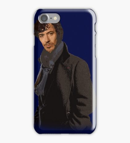 Sherlock Downey Jr. Phone Case iPhone Case/Skin