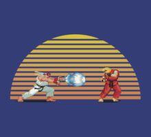Ryu v Ken by Jackson Chung