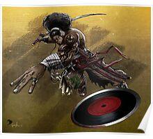 DJ Samurai Poster