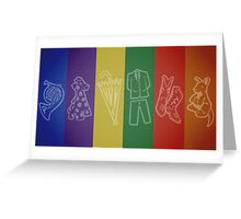 How I Met Your Colors Greeting Card