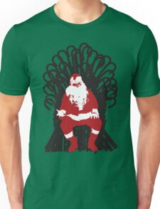 Christmas Is Coming - Candy Cane Throne Unisex T-Shirt