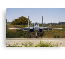 IAF Fighter jet F-15 (BAZ)  Canvas Print
