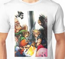 Smash 4 Cloud Reveal Illustration Unisex T-Shirt