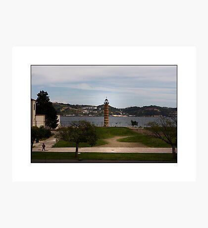 Lisbon Boardwalk Photographic Print