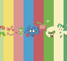 Pokemon Spectrum - Grass by Absolemn