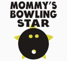 Mommy's Bowling Star One Piece - Long Sleeve