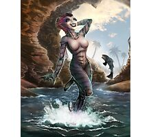 Gill Gal from the Black Lagoon - Color Version Photographic Print