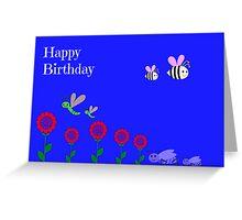 Children's Birthday Card Greeting Card
