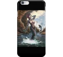 Gill Gal from the Black Lagoon - Color Version iPhone Case/Skin