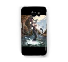 Gill Gal from the Black Lagoon - Color Version Samsung Galaxy Case/Skin