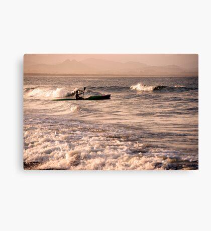 Wave Rider Canvas Print