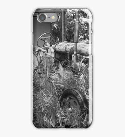 Vintage Tractor-Mon Repos iPhone Case/Skin