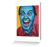 Jack is Back Greeting Card
