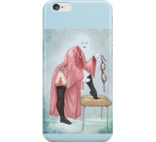 The Invisible Woman - Full Color Version iPhone Case/Skin