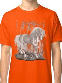Ivory .. a white stallion Classic T-Shirt