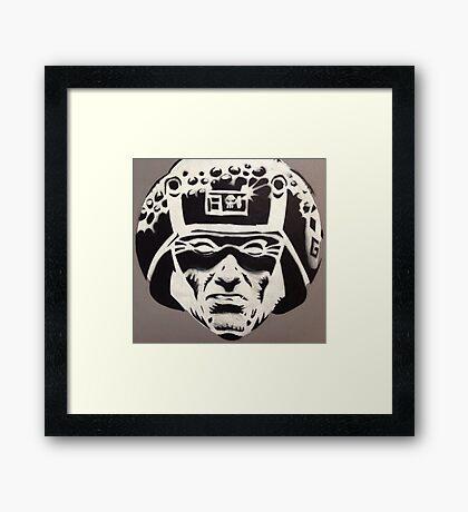 Rogue Trooper (Dave Gibbons) Framed Print