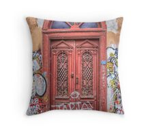 Door to majesty Throw Pillow