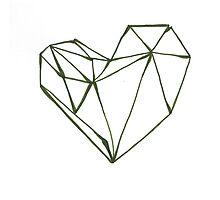 Crystal Heart Photographic Print