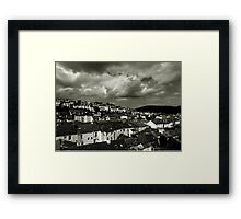 Devon Skyline Framed Print