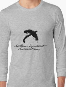 Intelligence Dept., Continental Army Long Sleeve T-Shirt
