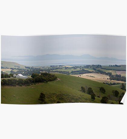 Gippsland Panorama. Australia. Poster