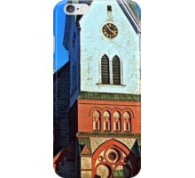 The village church of Aigen | architectural photography iPhone Case/Skin