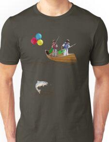 Tee: Canoe with Pooh Unisex T-Shirt