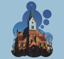 The village church of Aigen | architectural photography T-Shirt