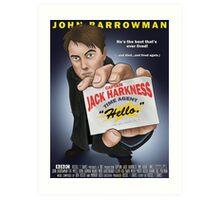 Captain Jack Harkness - Time Detective Art Print