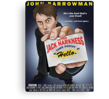 Captain Jack Harkness - Time Detective Canvas Print