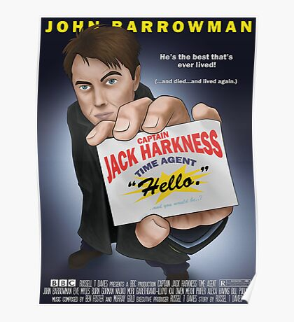 Captain Jack Harkness - Time Detective Poster