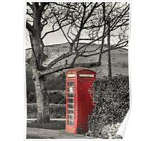 Rural Phone Box Poster