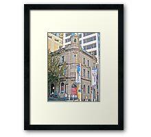 Contrasting Architecture - Kent & Sussex Sts Sydney - 2010 Framed Print