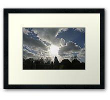 Bright Sky  Framed Print