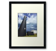 The Old Lighthouse - Dungeness  Framed Print