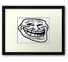 Troll Face Merchandise Framed Print