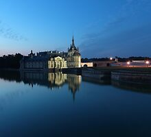 Chantilly, the mirror, Oise, France. by remos