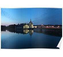 Chantilly, the mirror, Oise, France. Poster