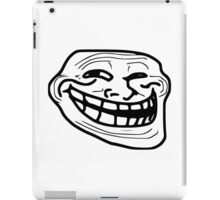 Troll Face Merchandise iPad Case/Skin