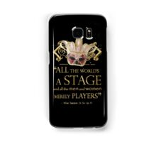 Shakespeare As You Like It Stage Quote Samsung Galaxy Case/Skin