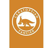 Ceratopsian Fancier Print Photographic Print