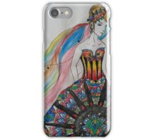 Lady of the cathedral iPhone Case/Skin